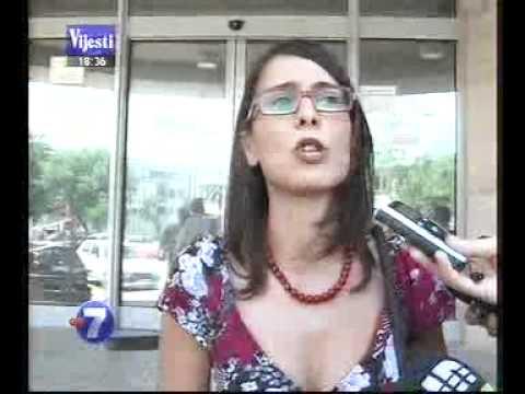01 07 2011 VIJESTI Vanja Calovic saopstila policiji da zna ko je postavio snimak svadbe Safeta Kalica na internet