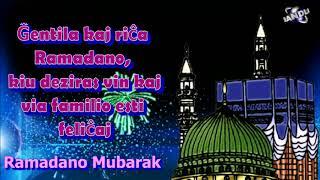 Esperanto Language Ramadan  Mubarak  Ramazan  Mubarak greetings Whatsapp download