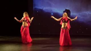 Nancy Ajram - ya tabtab wa dalla bellydance/danse orientale BellyShine Koukles show