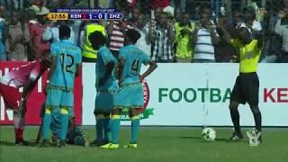 Azam TV - CECAFA2017: FULL HIGHLIGHTS; KENYA 2-2 ZANZIBAR (P: 3-2) - ENGLISH
