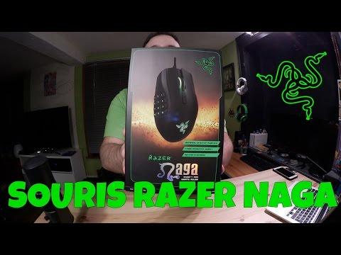 Une Souris Gamer avec 19 touches | Razer Naga