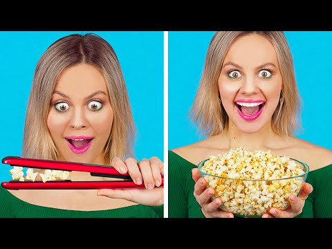 COOL FOOD HACKS AND FUNNY TRICKS Easy DIY Food Tips and Life Hacks by 123 GO