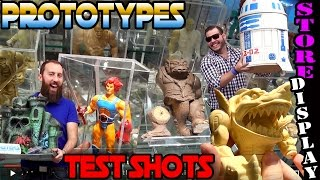 MASTERS OF THE UNIVERSE PROTOTYPES THUNDERCATS TEST SHOT STORE DISPLAY VINTAGE TOYS JUGUETES