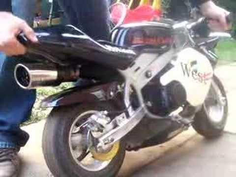 Chaos. Honda Mini Moto West