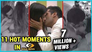 11 H0t INTIMATE Moments from Bigg Boss 11   Puneesh Sharma, Bandgi Kalra, Shilpa Shinde, Arshi Khan