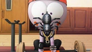 Funny Animated Cartoon | Spookiz | Kong Vs a 🕷️ SPIDER ?🕷️ | 스푸키즈 | Cartoon for Children