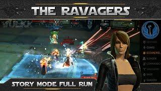 SWTOR OPS - THE RAVAGERS Full Run [DXUN] (8 Man Story Mode, Scoundrel Sawbones PoV)