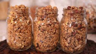 Granola 3 Delicious Ways