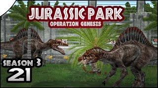 Jurassic Park: Operation Genesis || 21 || FINALLY Spinosaurus!