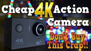 Cheap Action Camera ever on Amazon.in   Don't Buy