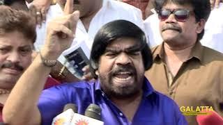 Producer Council fight - First Inga Nillu, Apram RK Nagar la Nillu Vishal   TR's Punch