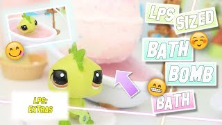 LPS: Pet-Sized Bath Bomb Bath Experiment!