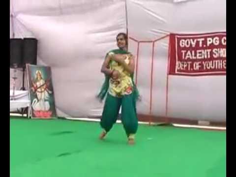 Jind/haryana PG College girl dance Amazing
