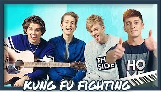The Vamps - Kung Fu Fighting - Acoustic Cover | Doug Armstrong