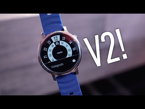 Moto 360 2nd Gen Impressions!