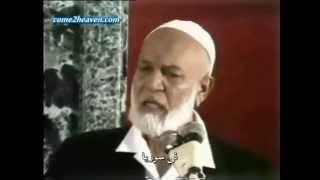 أحمد ديدات كلامه عن العلويين في سوريا