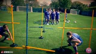 Coaching Stick and Hurdle Warm Up : NSCAA Technical Training Series Presented by Kwik Goal