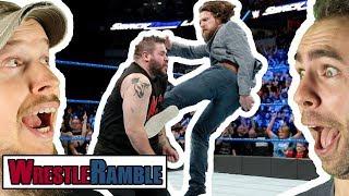 Daniel Bryan WrestleMania 34 Match?! WWE Raw v SmackDown Mar. 19 & 20, 2018 | WrestleRamble
