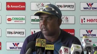 3rd ODI Pre Match Press Conference - Sri Lanka v Bangladesh