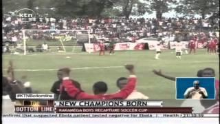 Kakamega High School's Green Commandos wins Airtel rising stars