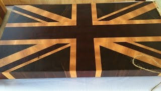 robert made it: Union Jack end grain cutting boards