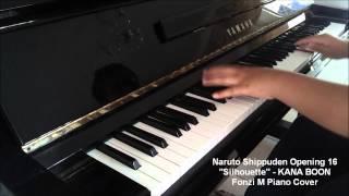 [Naruto Shippuden Opening 16] Silhouette - KANA BOON (Piano Cover) - [w/ Free MIDI + Sheets DL]