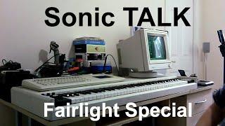 Sonic TALK Special: Fairlight Series III Restoration