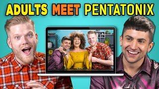 ADULTS REACT TO (AND MEET!) PENTATONIX