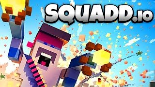 SQUADD.io - Flamethrower Rampage! - Let
