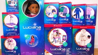 American Girl Luciana Vega Collection GOTY Unboxing & Review
