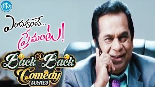 Endukante Premanta Movie Back to Back Comedy Scenes || Raghu Babu, Krishna Bhagavan