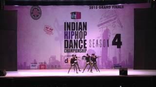 Deviantz Crew _ Mumbai @ INDIAN HIP HOP DANCE CHAMPIONSHIP 2015
