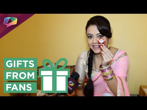 Devoleena Bhattacharya receives gift from fan