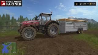 Farming Simulator 17 - OFFICIAL Preview Partner LiveStream #4