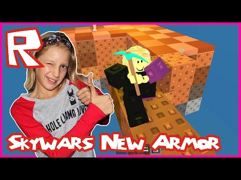 Skywars New Obsidian Armor / You Cannot Defeat Me / Roblox