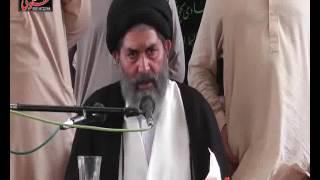 Allama  Sajid Ali Naqvi Biyan Mushkalat e Shia  Majlis  25 Rajab 2017 Jalal Por Sargodhar