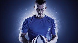 Photoshop Tutorial - Light Effects Sport Portrait