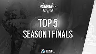 Rainbow Six Pro League - Top 5 of the Season 1 finals Katowice 2017