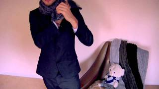 How to Tie A Scarf: 9 Stylish Ways to Tie a Scarf for Men