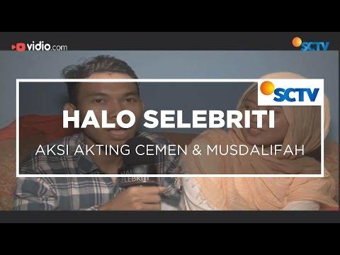 Aksi Akting Cemen dan Musdalifah - Halo Selebriti 13/01/16