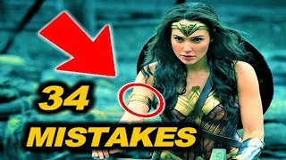 😂 34 MISTAKES in WONDER WOMAN ( 2017 )