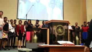 N.J.H.B.C YOUTH CHOIR ...Amazing grace