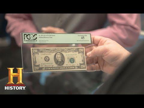 Pawn Stars 1974 Misprinted 30 Bill Season 14 History