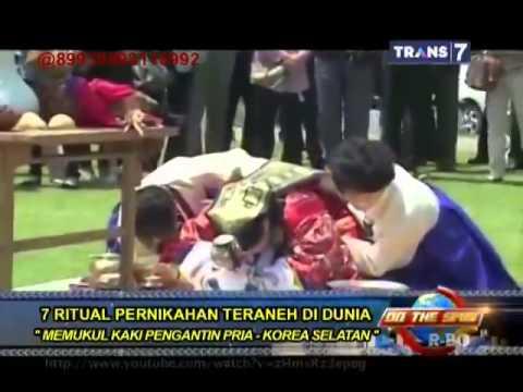 On The Spot ( Trans 7 ) - 7 Ritual Pernikahan Teraneh di Dunia