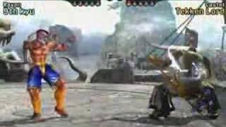 Heihachi Tekken 5 combo vid