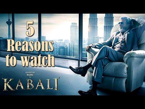 5 reasons why you should watch Rajinikanth's 'Kabali'
