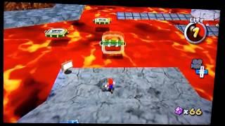 Super Mario Galaxy 2 Custom Level - Lethal Lava Galaxy