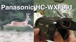 New Hunting Video Camera Unboxing & Test Run