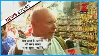 Auto Wale Babu : What do foreign tourists think of cleanliness in Delhi?
