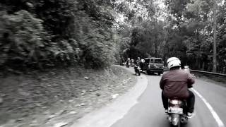 Touring Sawarna jalur Cikidang Balinda crew & Lollypop Look Style 2017